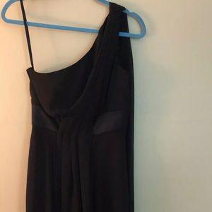 WhiteHouse BlackMarket One Shoulder Coctail Dress
